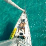 Windsufer, sailing san blas