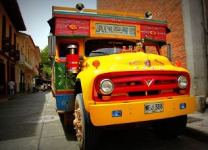 Chiva city tour